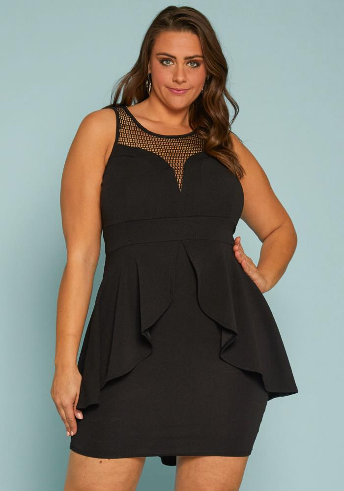 Asoph Plus Size Peplum Dress | Asoph.com